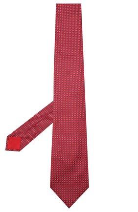 Мужской шелковый галстук BRIONI красного цвета, арт. 062I00/09438 | Фото 2