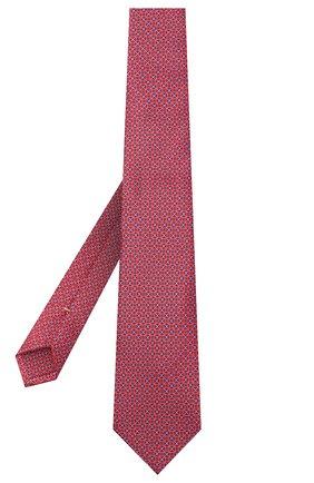 Мужской шелковый галстук CANALI коричневого цвета, арт. 18/HS02950 | Фото 2