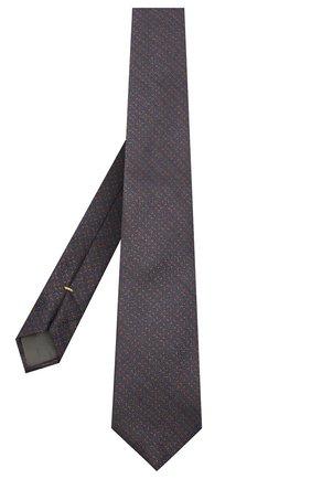 Мужской шелковый галстук CANALI коричневого цвета, арт. 18/HJ02911 | Фото 2