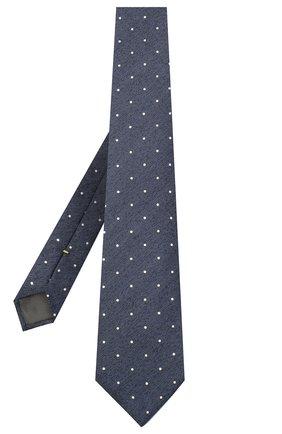 Мужской шелковый галстук CANALI темно-коричневого цвета, арт. 18/HJ02894 | Фото 2
