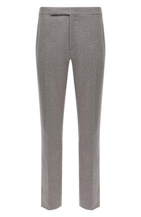 Мужской шерстяные брюки RALPH LAUREN серого цвета, арт. 798804761 | Фото 1