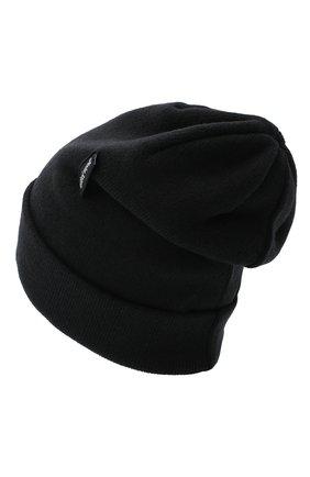 Мужская шерстяная шапка PALM ANGELS черного цвета, арт. PMLC010E20KNI0011001 | Фото 2