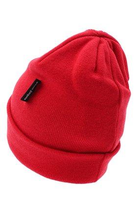 Мужская шерстяная шапка PALM ANGELS красного цвета, арт. PMLC010E20KNI0012901 | Фото 2