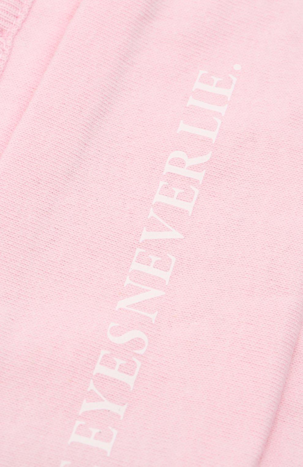 Мужская маска для лица PALM ANGELS розового цвета, арт. PMRG002E20JER0033001 | Фото 3