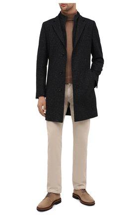 Мужской пальто HUGO темно-серого цвета, арт. 50437238   Фото 2