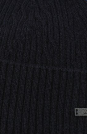 Мужская шапка BOSS синего цвета, арт. 50438790   Фото 3