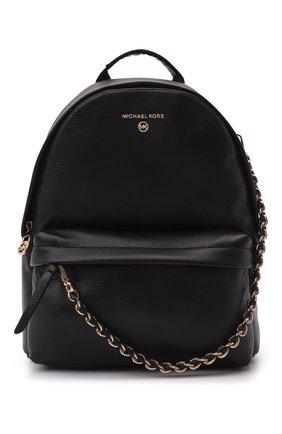 Женский рюкзак slater medium MICHAEL MICHAEL KORS черного цвета, арт. 30T0G04B1L | Фото 1