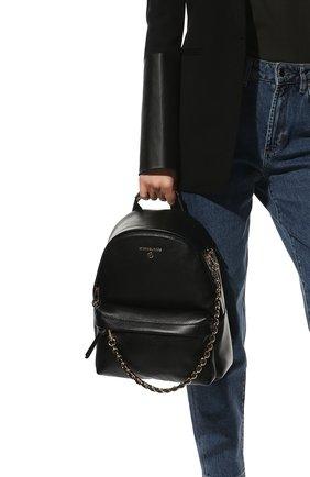Женский рюкзак slater medium MICHAEL MICHAEL KORS черного цвета, арт. 30T0G04B1L | Фото 2