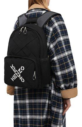 Женский рюкзак active kenzo sport KENZO черного цвета, арт. FA65SA213F21 | Фото 2