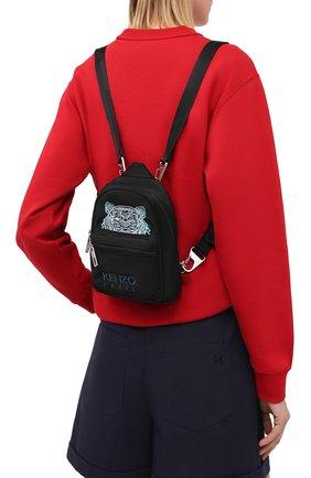 Женский рюкзак kampus mini KENZO черного цвета, арт. FA65SF301F20 | Фото 2
