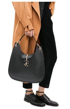 Женская сумка varenne JIMMY CHOO черного цвета, арт. VARENNE H0B0/L/CLF | Фото 2