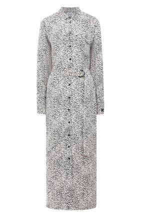 Женское платье из вискозы KENZO черно-белого цвета, арт. FA62R002253C | Фото 1