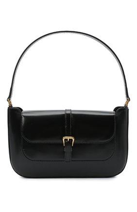 Женская сумка miranda BY FAR черного цвета, арт. 19PFMDASBLWMED | Фото 1