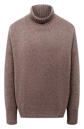 Женский свитер из смеси шерсти и кашемира ADDICTED темно-бежевого цвета, арт. MK840 | Фото 1