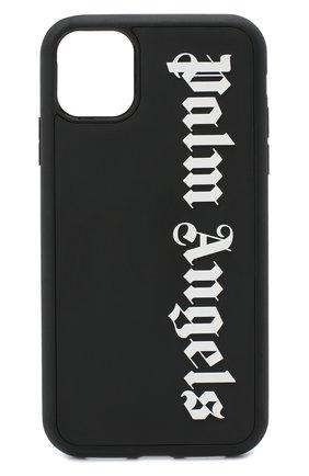 Мужской чехол для iphone 11 PALM ANGELS черного цвета, арт. PMPA015E20PLA0061001 | Фото 1