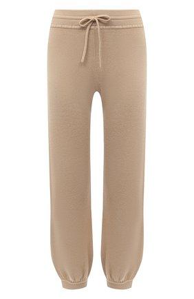 Женские кашемировые брюки CHLOÉ бежевого цвета, арт. CHC20AMT90500   Фото 1