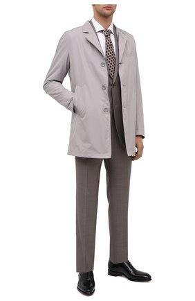 Мужская хлопковая сорочка ZEGNA COUTURE белого цвета, арт. 802010/9NS0LB | Фото 2