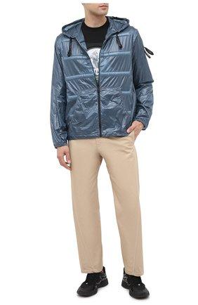 Мужская куртка 5 moncler craig green MONCLER GENIUS темно-синего цвета, арт. F2-09H-1A702-10-C0624 | Фото 2