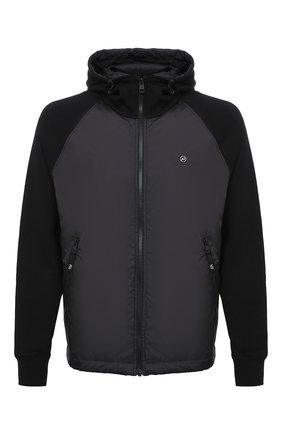 Мужская комбинированная куртка 7 moncler fragment hiroshi fujiwara MONCLER GENIUS черного цвета, арт. F2-09U-8G710-10-809F4 | Фото 1