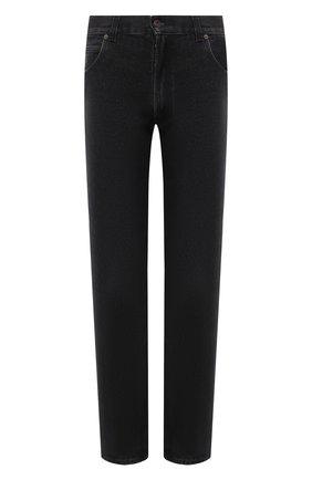 Мужские джинсы LOEWE черного цвета, арт. H526331XAD | Фото 1