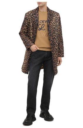 Мужские джинсы LOEWE черного цвета, арт. H526331XAD | Фото 2