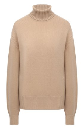 Женский кашемировый свитер CHLOÉ бежевого цвета, арт. CHC20AMP90500   Фото 1