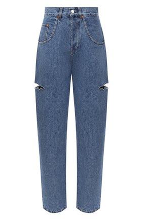 Женские джинсы FORTE DEI MARMI COUTURE синего цвета, арт. 20WF7057 | Фото 1