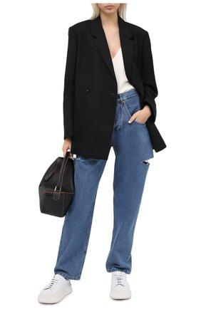 Женские джинсы FORTE DEI MARMI COUTURE синего цвета, арт. 20WF7057 | Фото 2