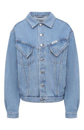 Женская джинсовая куртка FORTE DEI MARMI COUTURE синего цвета, арт. 20WF7352 | Фото 1