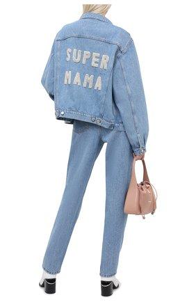 Женская джинсовая куртка FORTE DEI MARMI COUTURE синего цвета, арт. 20WF7352 | Фото 2