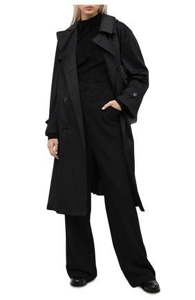 Женский замшевый топ DROME черного цвета, арт. DPDA482R/D734   Фото 2