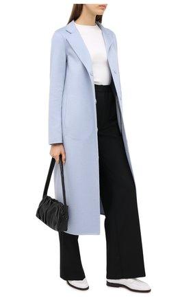 Женские кожаные лоферы SANTONI белого цвета, арт. WUQU58984BA1NBCKI50 | Фото 2