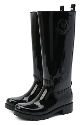 Женские сапоги clement MONCLER черного цвета, арт. F2-09B-4G701-00-04747 | Фото 1