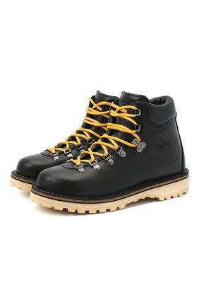 Женские кожаные ботинки DIEMME черного цвета, арт. DI2007RV02/W   Фото 1
