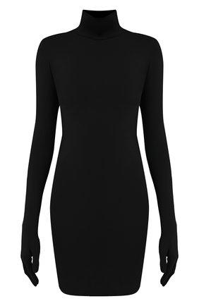 Женское платье VETEMENTS черного цвета, арт. WAH21DR094 2606/BLACK | Фото 1