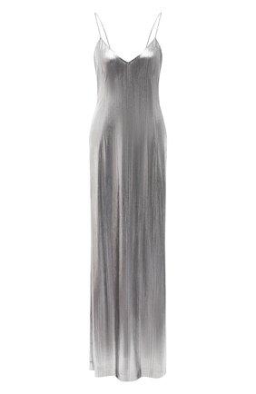 Женское платье VETEMENTS серебряного цвета, арт. WAH21DR901 2607/SILVER   Фото 1