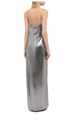 Женское платье VETEMENTS серебряного цвета, арт. WAH21DR901 2607/SILVER | Фото 4