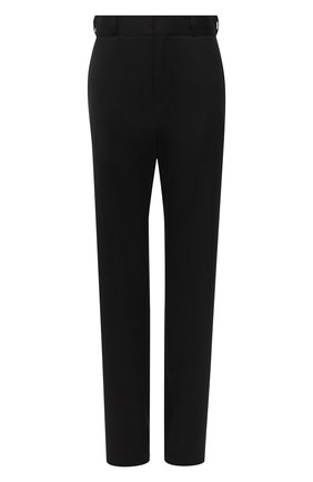 Женские шерстяные брюки VETEMENTS черного цвета, арт. WAH21PA079 1204/BLACK | Фото 1