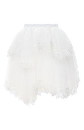 Женская юбка VETEMENTS белого цвета, арт. WAH21SK102 1335/WHITE   Фото 1