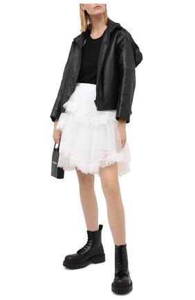 Женская юбка VETEMENTS белого цвета, арт. WAH21SK102 1335/WHITE   Фото 2