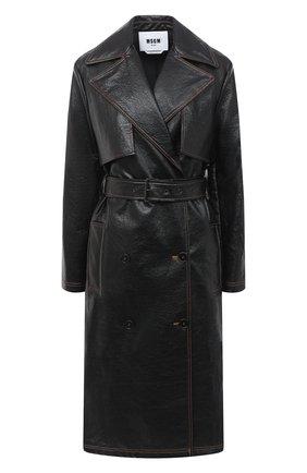 Женское пальто MSGM черного цвета, арт. 2941MDC06 207670 | Фото 1