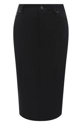 Женская юбка TOM FORD черного цвета, арт. GCD042-DEX105 | Фото 1