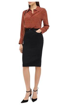 Женская юбка TOM FORD черного цвета, арт. GCD042-DEX105 | Фото 2