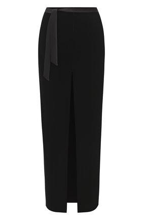 Женская юбка SAINT LAURENT черного цвета, арт. 627256/Y525R   Фото 1