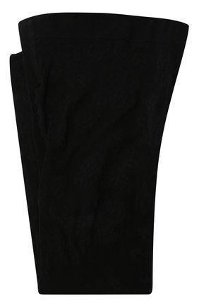 Женские колготки SAINT LAURENT черного цвета, арт. 636080/YBXM2 | Фото 1