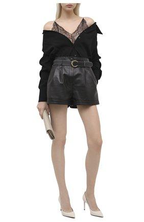 Женская кожаные туфли zoe SAINT LAURENT белого цвета, арт. 529731/1ZJ00 | Фото 2