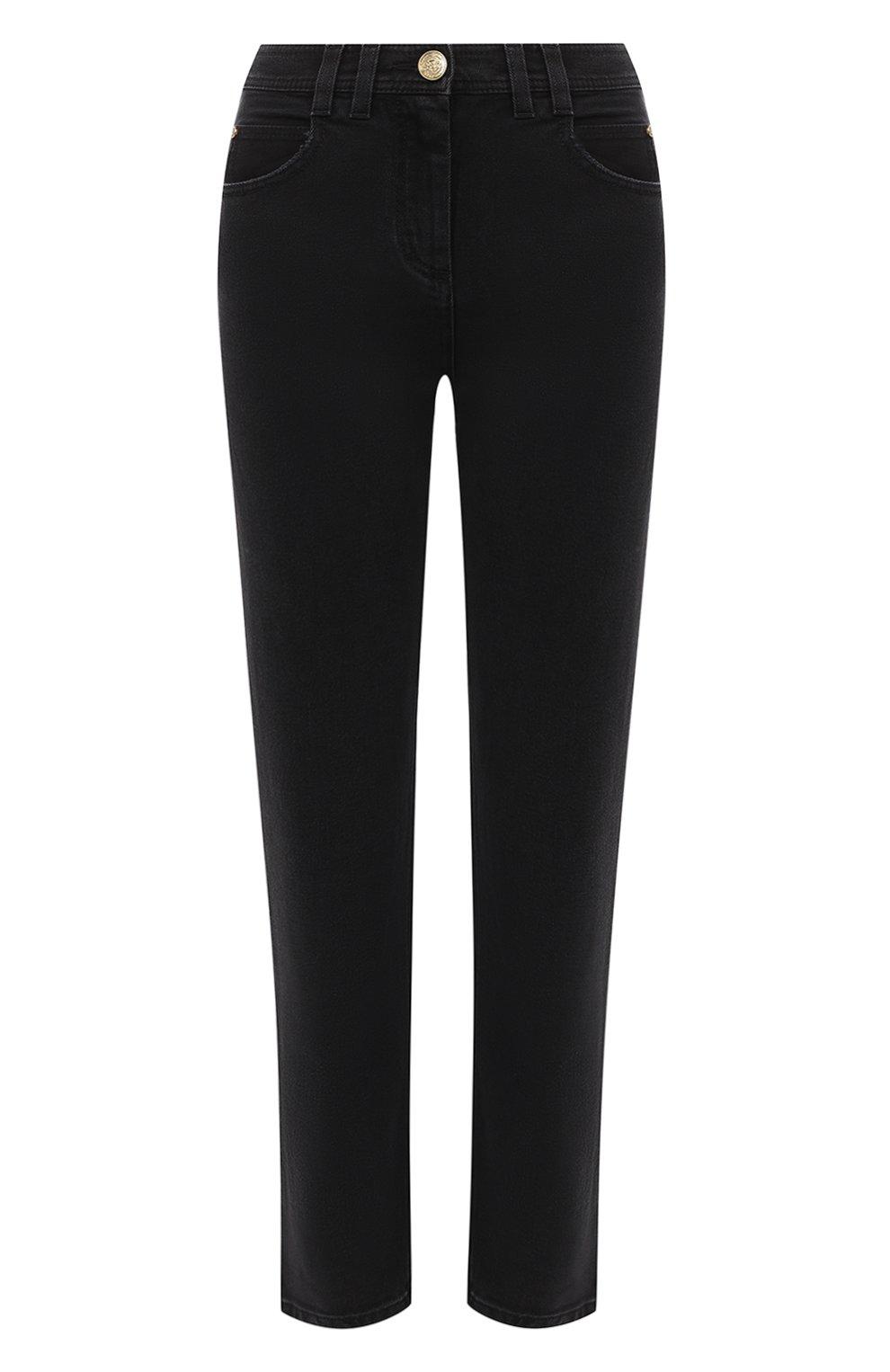 Женские джинсы BALMAIN темно-серого цвета, арт. UF15515/D047 | Фото 1