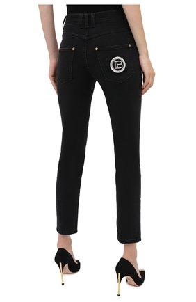 Женские джинсы BALMAIN темно-серого цвета, арт. UF15515/D047 | Фото 5