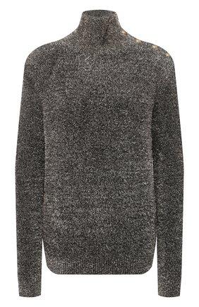 Женский свитер BALMAIN золотого цвета, арт. UF13232/K140 | Фото 1