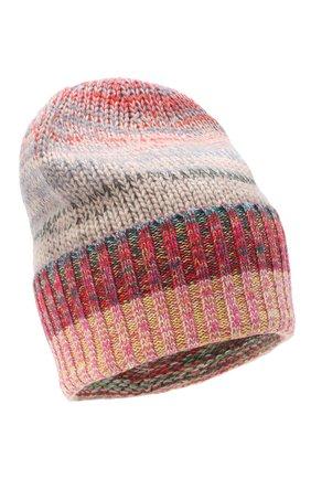 Женский кашемировая шапка FTC разноцветного цвета, арт. 003-8030 | Фото 1